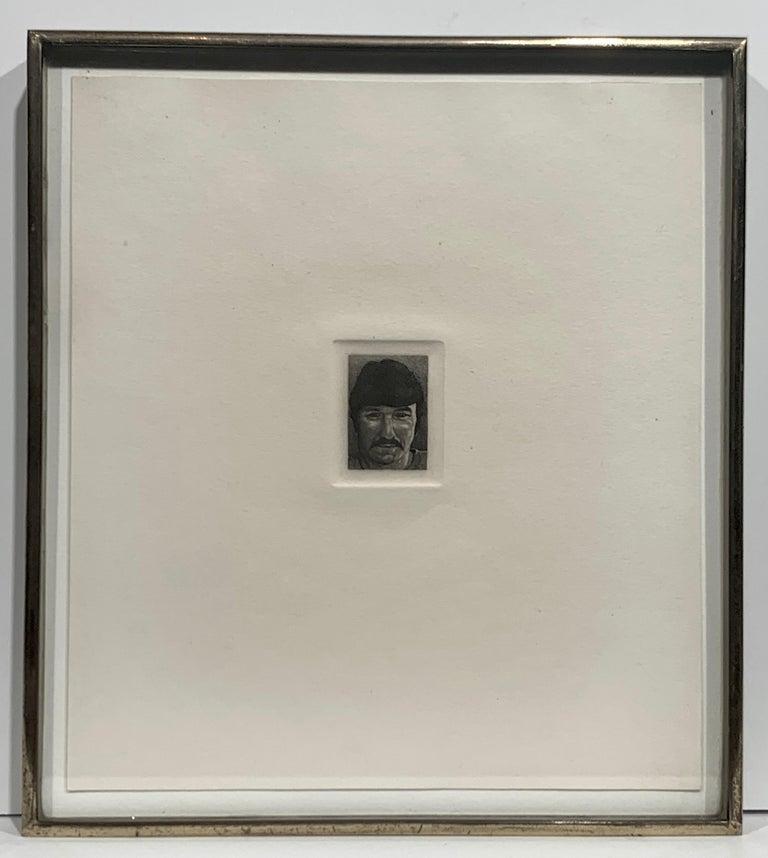 Billy Bengston (Portrait of the Pop Artist) - Print by Theo Wujcik