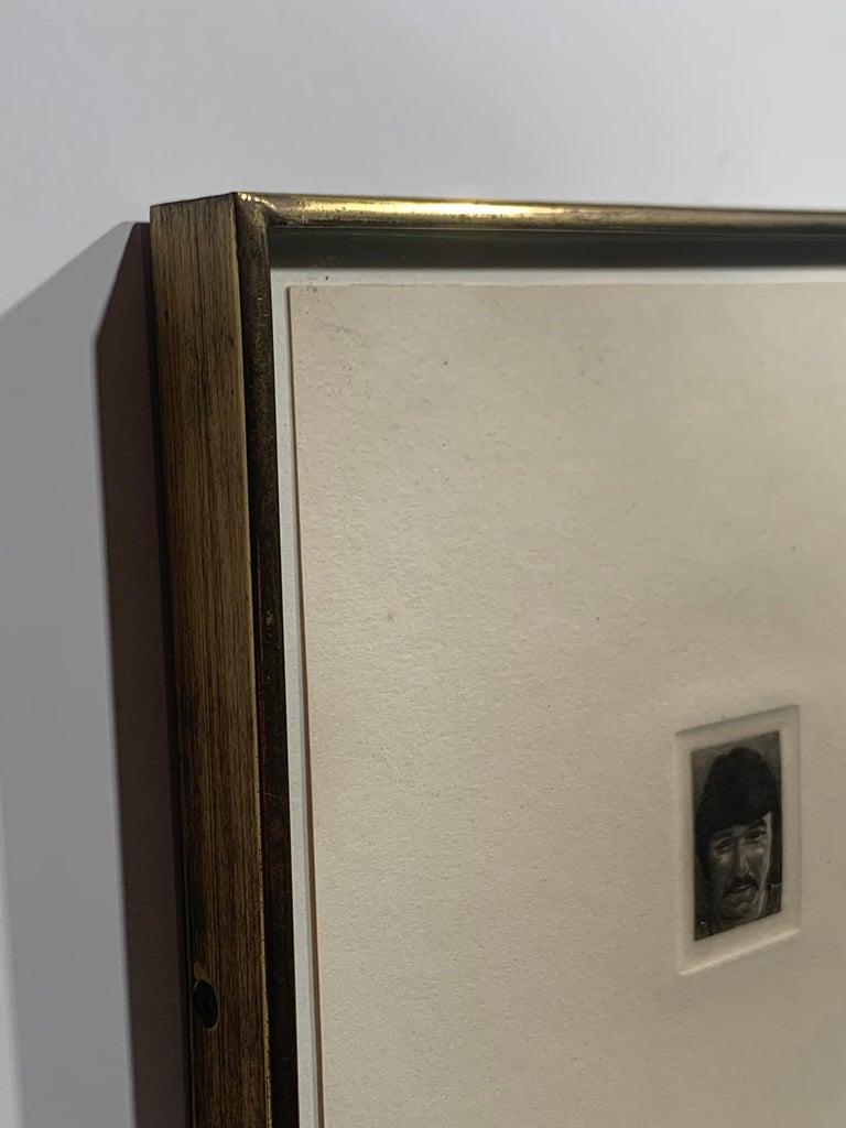 Billy Bengston (Portrait of the Pop Artist) - Photorealist Print by Theo Wujcik