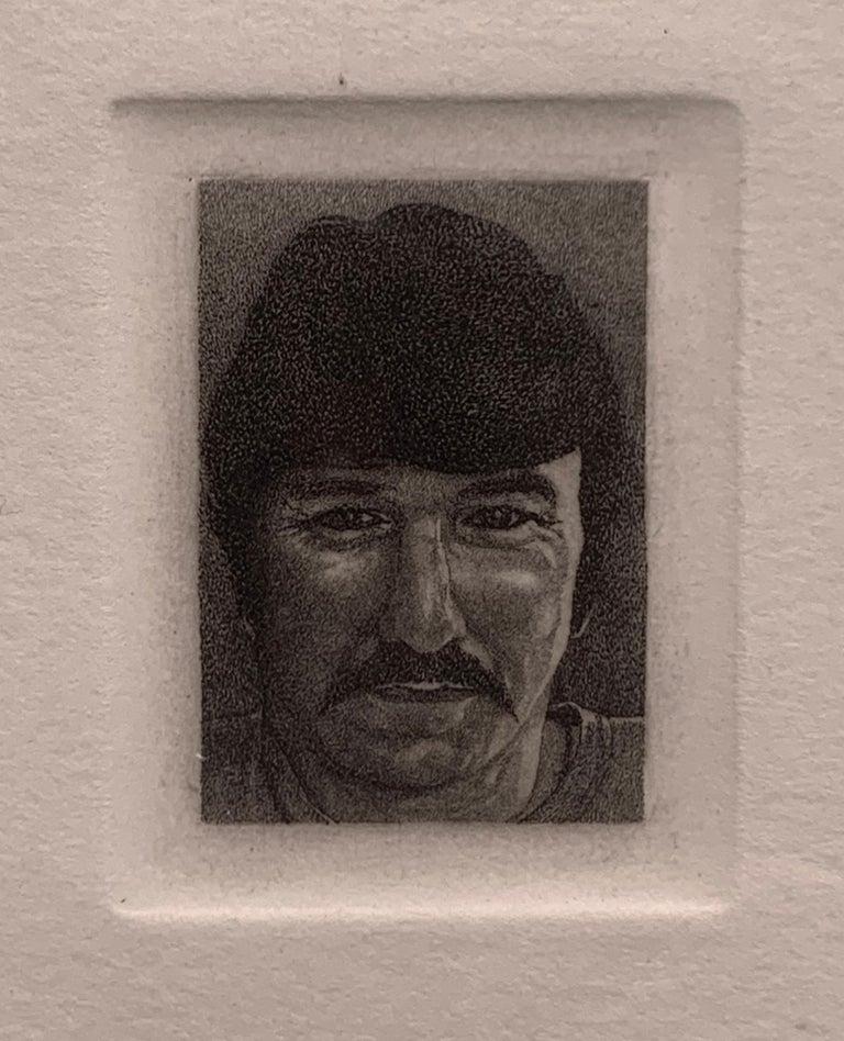 Theo Wujcik Portrait Print - Billy Bengston (Portrait of the Pop Artist)