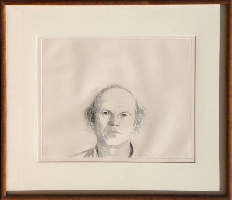 Theo Wujcik Portrait Print - James Rosenquist from the Mentors Series