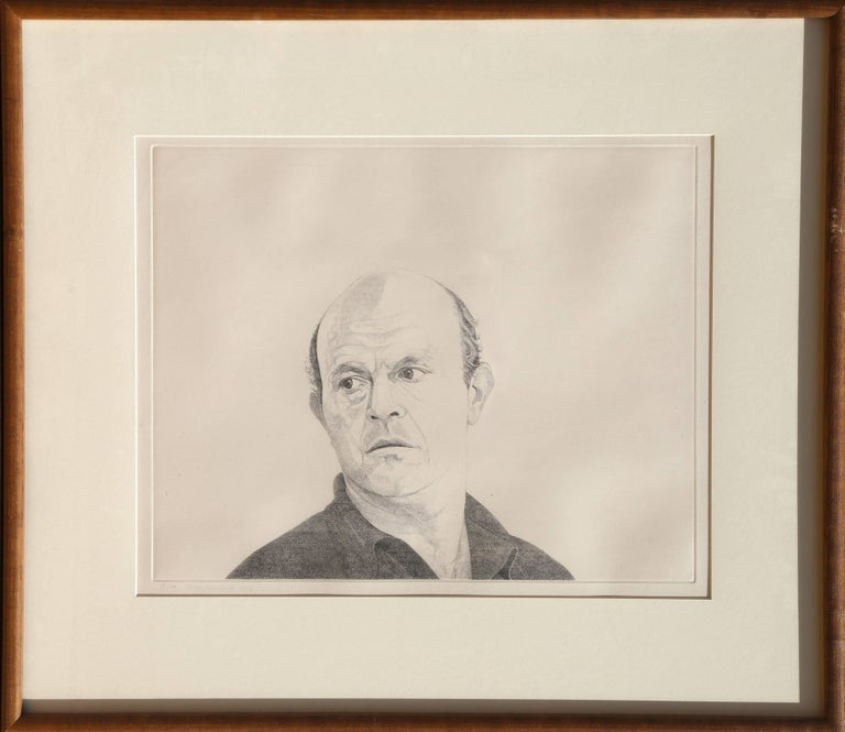 Theo Wujcik Portrait Print - Jim Dine from the Mentors Series