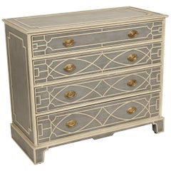 Theodore Alexander Painted Chest of Drawers