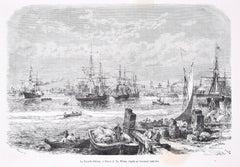 La Nouvelle Orléans - Original Woodcut Print After T.A. Weber - 1876