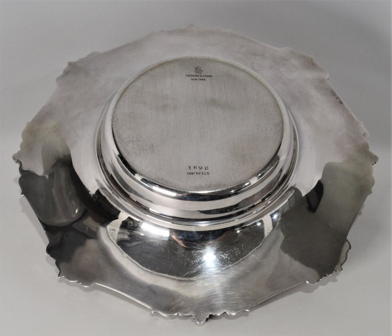 Theodore B. Starr Sterling Silver Bowl For Sale 6