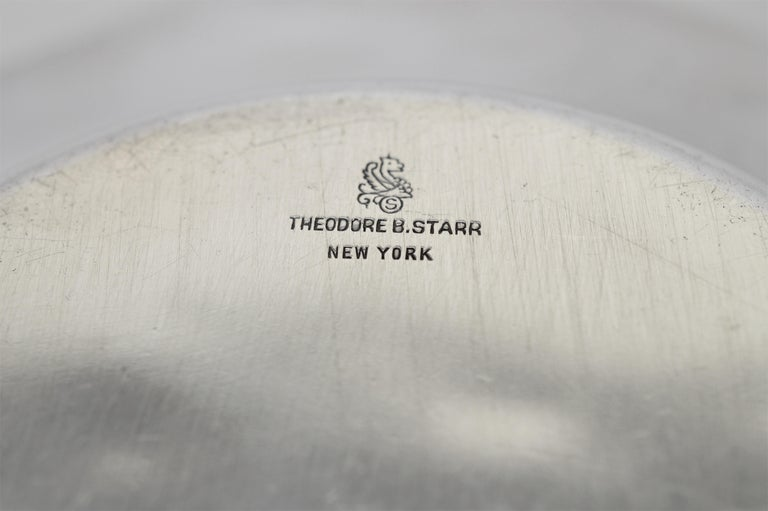 Theodore B. Starr Sterling Silver Bowl For Sale 5