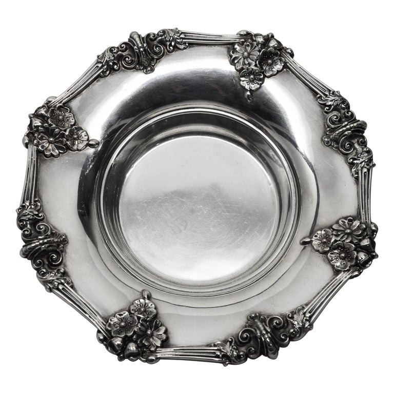 Theodore B. Starr Sterling Silver Bowl For Sale