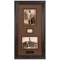 Theodore Roosevelt Signed Collage