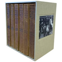 Theodore Roosevelt's The Winning of the West in 6-Volumes, 1905