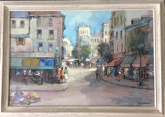 European City Street Scene