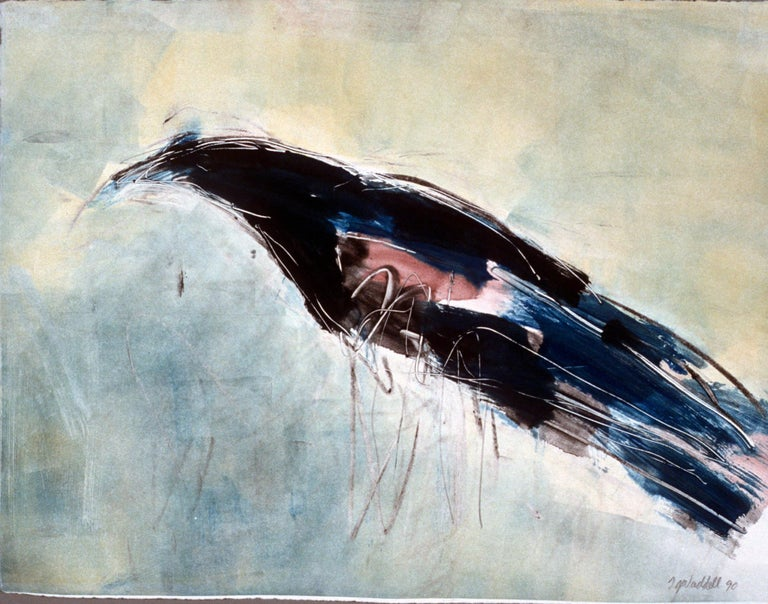 Spurling Black Bird M4 - Print by Theodore Waddell