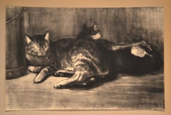 Cats - From Chats et Autres Bêtes - Original Lithograph 1933