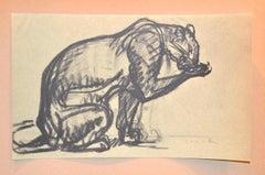 Cheetah - From Chats et Autres Bêtes - Original Lithograph 1933