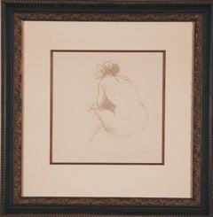 """""""Femme Nue"""" by Steinlen"""