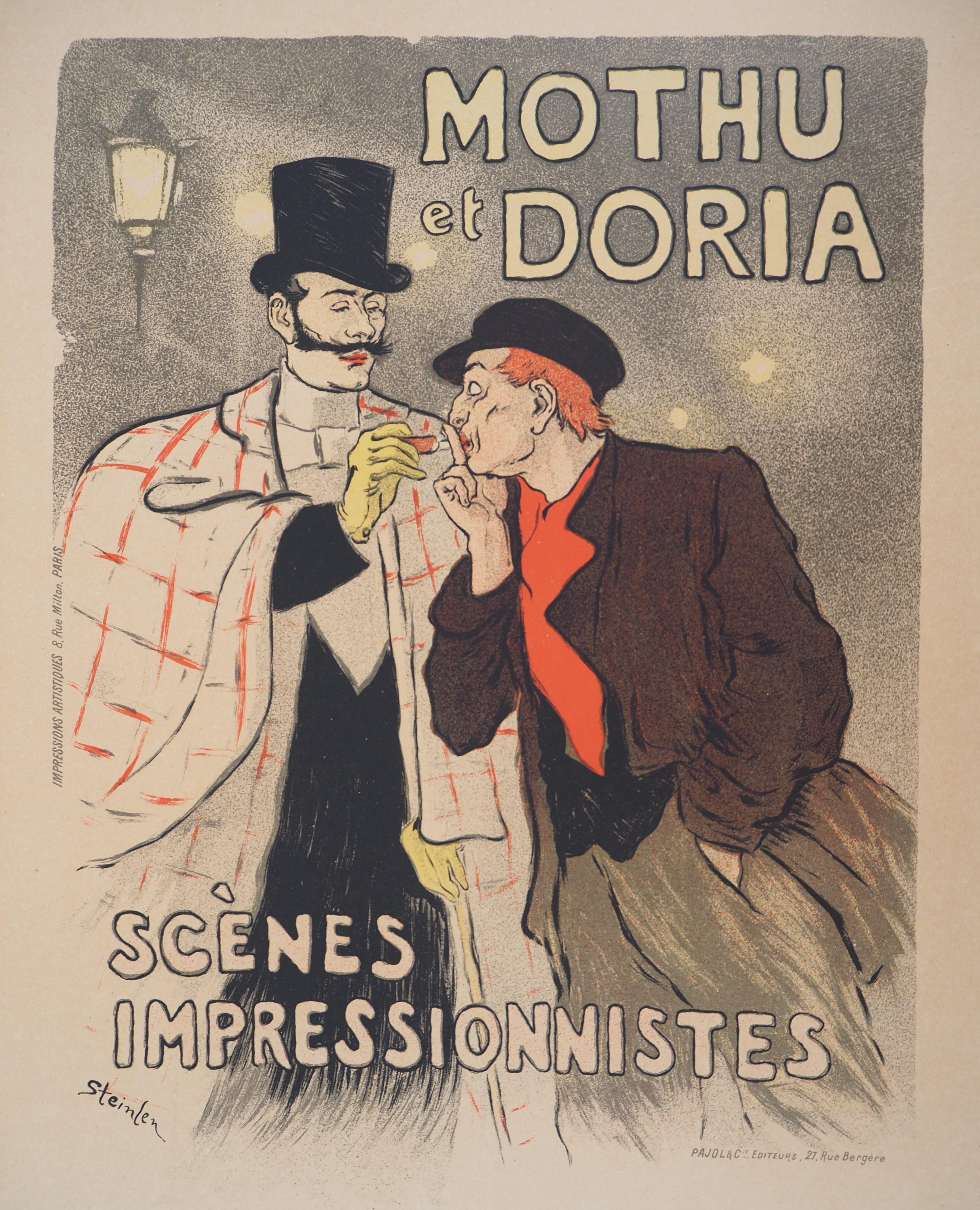 Impressionist Scenes - Lithograph (Les Maîtres de l'Affiche), 1895