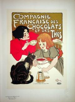 The Little Girl and her Cat - Lithograph (Les Maîtres de l'Affiche), 1899
