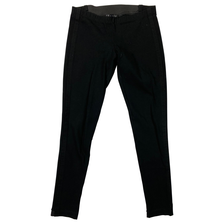 Theory Black Leggings Pants, Size Small