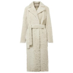 Theory Clairene Reversible Shearling Coat
