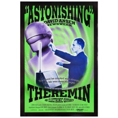 Theremin An Electronic Odyssey 1995 U.S. One Sheet Film Poster
