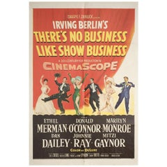 There's No Business Like Show Business 1954 U.S. One Sheet Film Poster