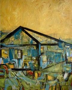 Glasshouse, Painting, Acrylic on Canvas
