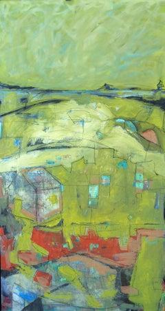 Irish Beach, Painting, Acrylic on Canvas