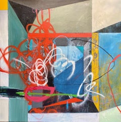 Rooms-Fixture, Painting, Acrylic on Canvas
