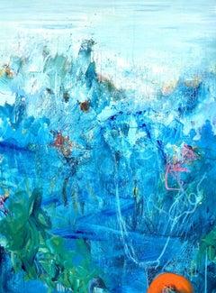 Submerged, Painting, Acrylic on Canvas