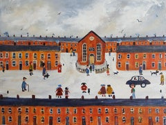 Sunday Song,  Naive School Painting