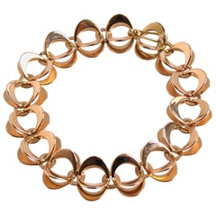 Theresia Hvorslev 18 k Gold Flower Bracelet