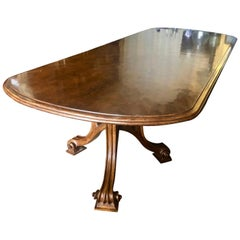 Therien Studio Workshops USA Mahogany Banquet Dining Table