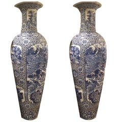 These Elegant Late 19th-Early 20th Century, Chinese Vases Are Very Beautiful