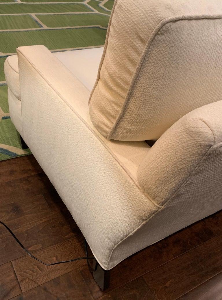 Thibaut Madison Custom Sectional Sofa In Crypton Fabric