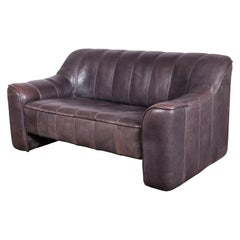 Thick and Soft Buffalo Leather De Sede DS-44 Loveseat Sofa