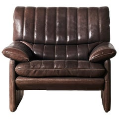 """Thick and Soft Buffalo """"Neck"""" Leather De Sede DS-86 Armchair"""