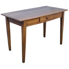 Thick Top Antique Cherry Writing Table