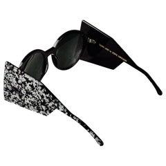 "THIERRY LASRY for STEFFIE CHRISTIAENS ""Gyrolite"" Futuristic Sunglasses"