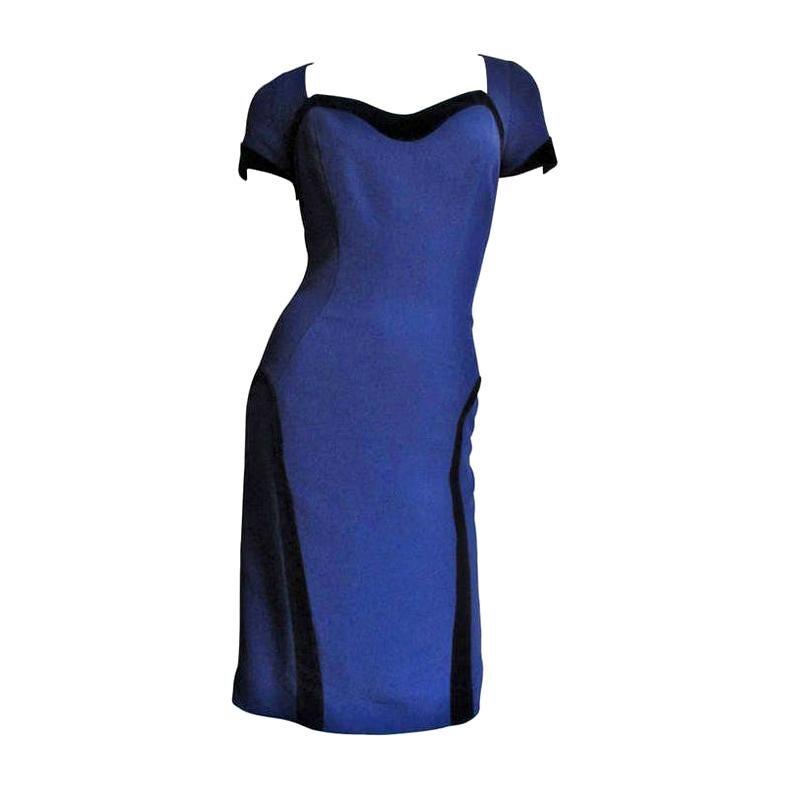 Thierry Mugler Color Block Dress