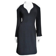 Thierry Mugler Couture Cold Shoulder Dress