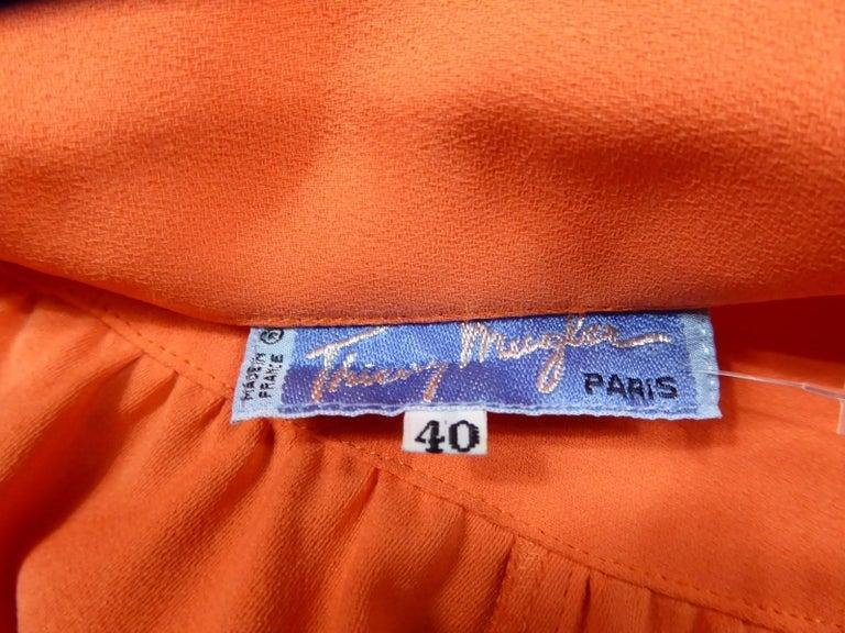 Thierry Mugler Dress, circa 1988 For Sale 6