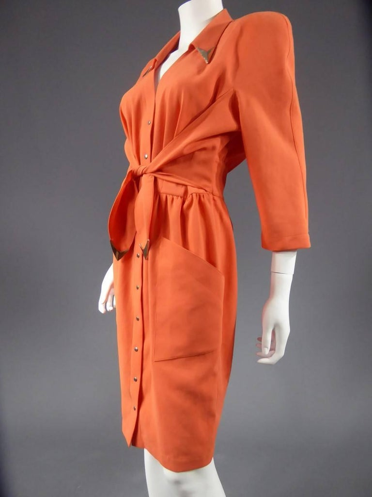 Women's  Thierry Mugler Dress, circa 1988 For Sale