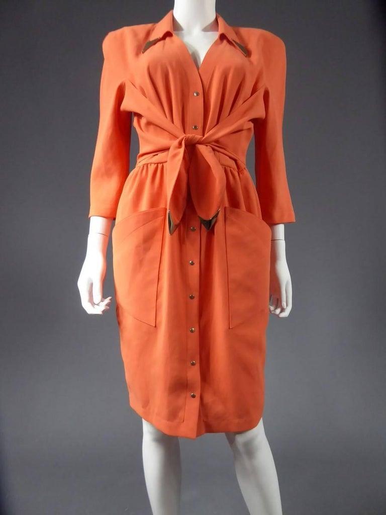 Thierry Mugler Dress, circa 1988 For Sale 1
