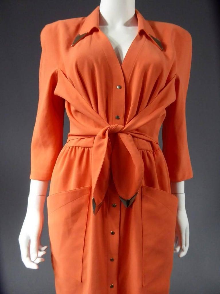 Thierry Mugler Dress, circa 1988 For Sale 2