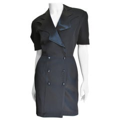 Thierry Mugler Dress with Back Cut Out