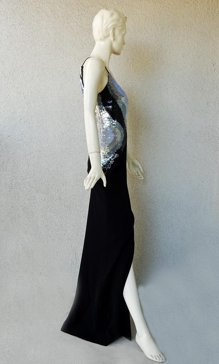 Women's Thierry Mugler Glitter Goddess Entrance Dress Gown   NWT  SoldOut For Sale