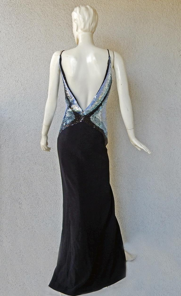 Thierry Mugler Glitter Goddess Entrance Dress Gown   NWT  SoldOut For Sale 1