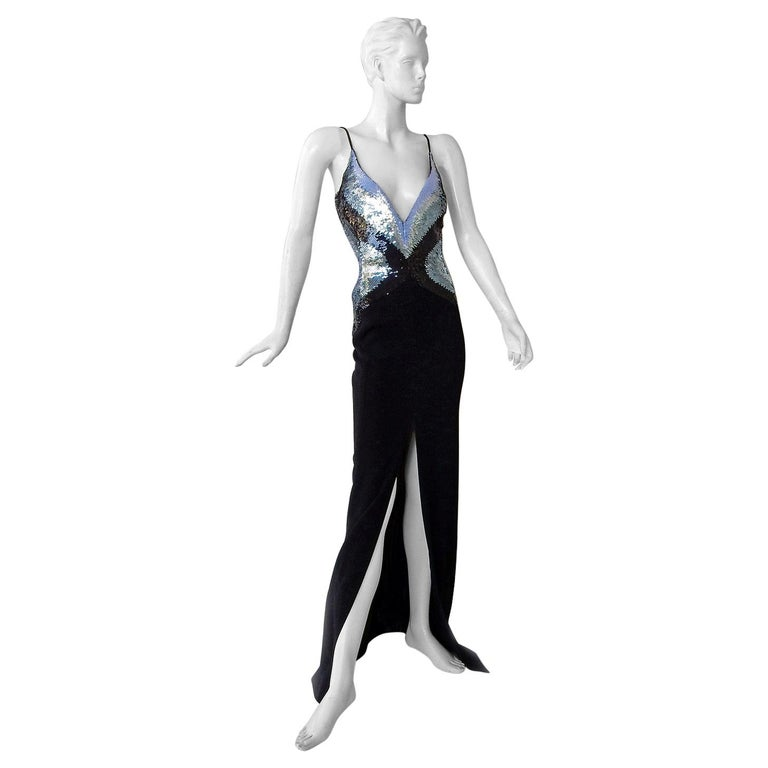 Thierry Mugler Glitter Goddess Entrance Dress Gown   NWT  SoldOut For Sale
