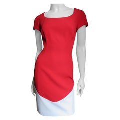 Thierry Mugler New Color Block Dress