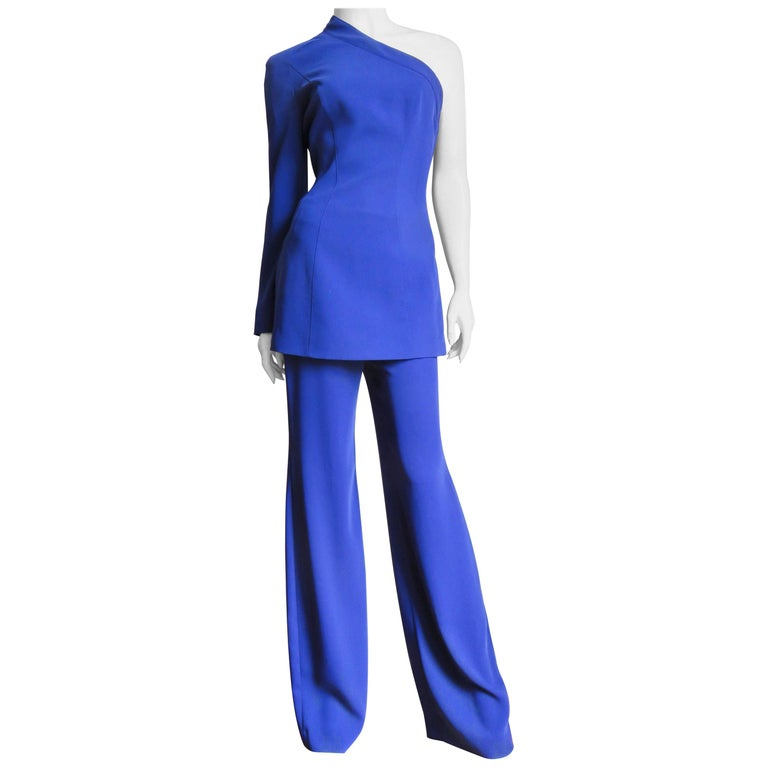 Thierry Mugler New Pants and Jacket with a Removable Sleeve For Sale