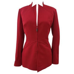 Thierry Mugler Red Jacket