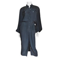 Thierry Mugler Shirtwaist Dress